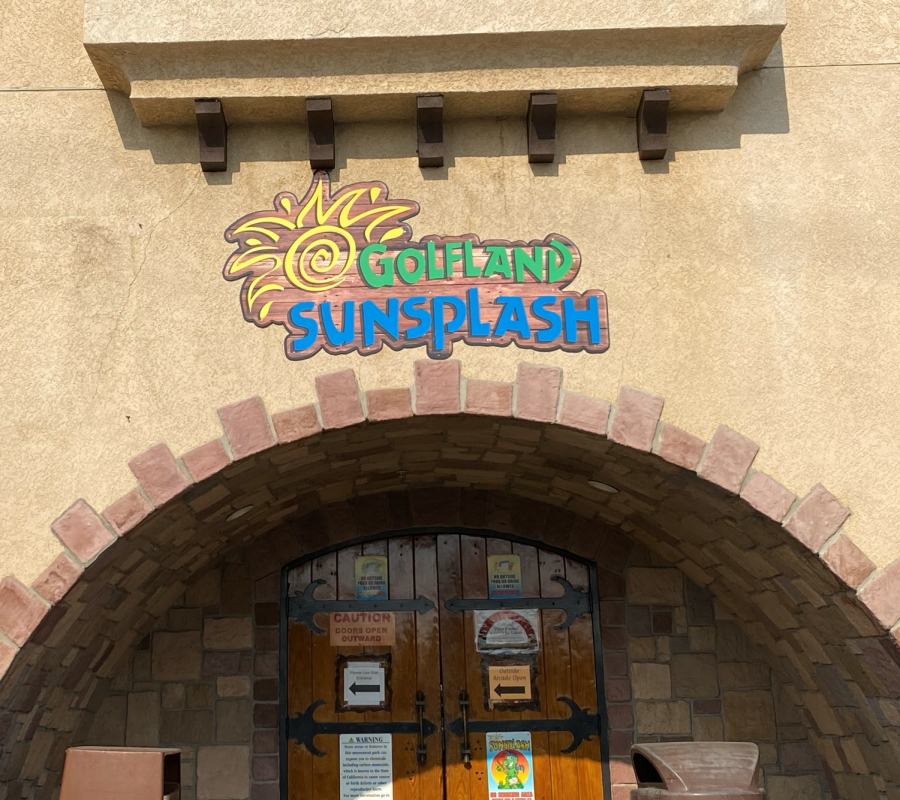 Golfland+Sunsplash+is+often+a+popular+destination+for+mini+golfing%2C+water+fun%2C+and+other+activities.+Despite+the+county%27s+urge+against+it%2C+they+opened+temporarily+over+the+summer.