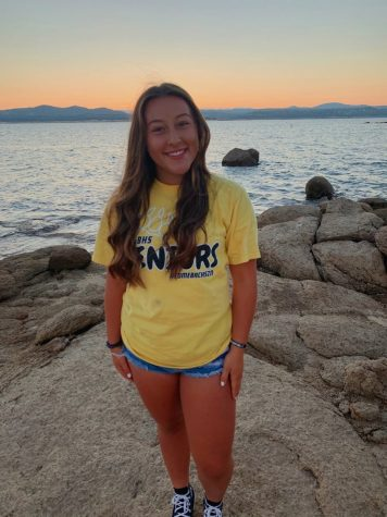 Olivia Galvan, senior class president, is optimistic for her senior year despite online learning.