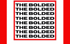 The Bolded Magazine logo highlights their trademark colors: red and black.