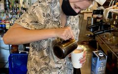 Local coffee shops lose business due to safety regulations mandated by the county.