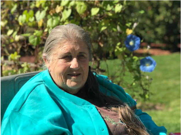 Bettie Bartz has lived at the Eskaton Lodge Retirement Homes for two years, and is continuously searching for ways to make the community around her better.