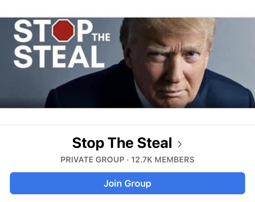 Skeptics of the election results have flocked to Stop the Steal Facebook groups by the thousands.