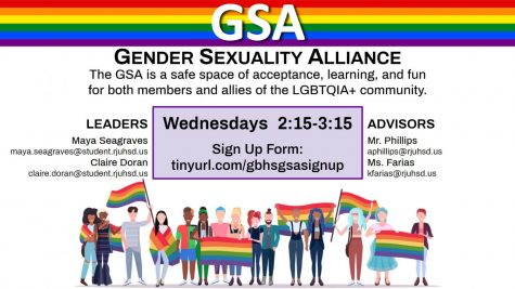 The Gender Sexuality Alliance club at Granite Bay High School serves as a safe place for the LGBTQ+ community and beyond.